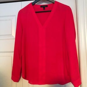 Bright Pink Banana Republic Blouse